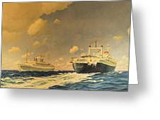 Veendam Greeting Card