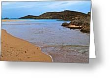 Vega Baja Beach 2 Greeting Card
