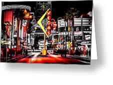 Vegas Nights Greeting Card