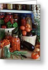 Vegetables For Pickling Greeting Card