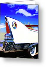 Vehicle Launch Palm Springs Greeting Card