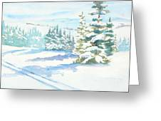 Veiw From Mt. Werner Greeting Card