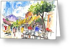 Velez Rubio Market 02 Greeting Card