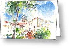 Velez Rubio Townscape 01 Greeting Card