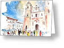 Velez Rubio Townscape 02 Greeting Card