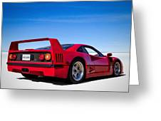 Veloce Equals Speed Greeting Card