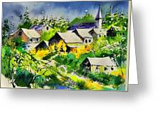 Vencimont Watercolor  Greeting Card