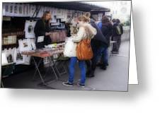 Vendor La Rue St. Michel Greeting Card