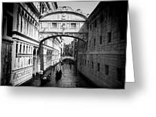 Venetian Classic Bridge Greeting Card