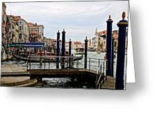 Venetian Days  Greeting Card
