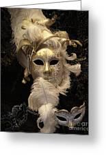 Venetian Face Mask B Greeting Card