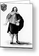 Venetian Man, 18th Century Greeting Card