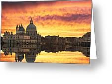 Venetian Reflections Greeting Card