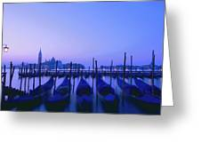 Venetian Sunrise Greeting Card