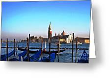 Venezia City Of Islands Greeting Card