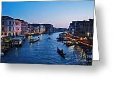 Venezia - Il Gran Canale Greeting Card