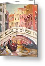 Venice Is For Lovers Greeting Card