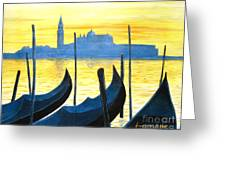 Venezia Venice Italy Greeting Card
