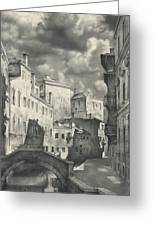 Venice. A View From The Other Bridge Greeting Card
