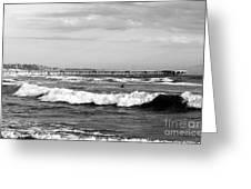 Venice Beach Waves IIi Greeting Card