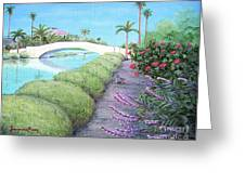 Venice California Canals Greeting Card