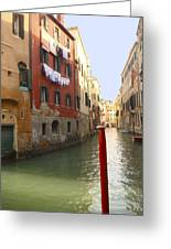 Venice Canal 3 Greeting Card