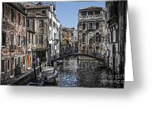 Venice Canal 5 Greeting Card