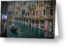 Venice Canal 7 Greeting Card
