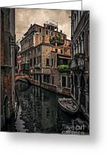 Venice Canal 8 Greeting Card