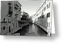 Venice Canal Greeting Card