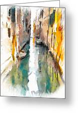 Venice Canals 0 Greeting Card