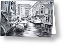 Venice City Of Love Greeting Card