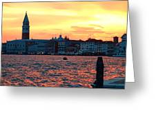 Venice Colors Greeting Card