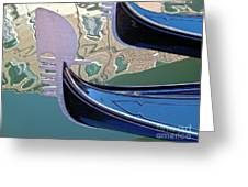 Venice Gondolas Greeting Card