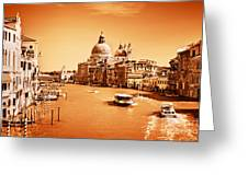 Venice Italy Grand Canal Greeting Card