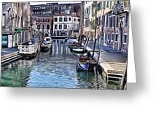 Venice Italy Iv Greeting Card