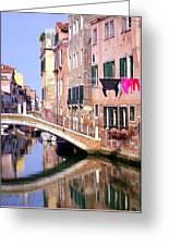 Venice Living Greeting Card