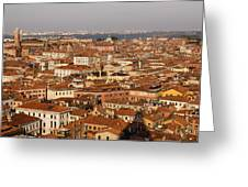 Venice Italy - No Canals Greeting Card
