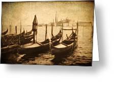 Venice Postcard Greeting Card