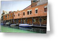 Venice Reflections - Italy Greeting Card