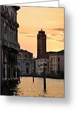 Venice Sunrise  Greeting Card