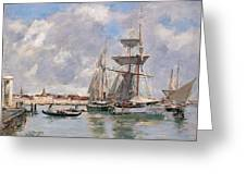 Venice. The Grand Canal Greeting Card