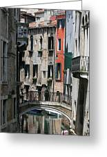 Venice Waterways Greeting Card