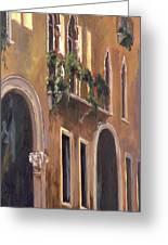 Venice Windows Greeting Card