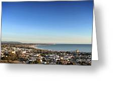 Ventura Skyline Greeting Card