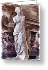 Venus De Milo - Louvre Greeting Card