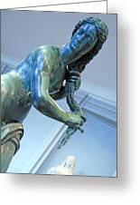 Venus Washing Her Hair Greeting Card