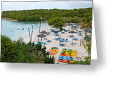 Verandah Resort Greeting Card