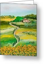 Verde Sentiero Greeting Card