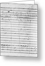 Verdi Rigoletto, 1850 Greeting Card
